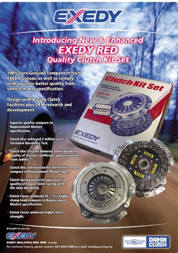 Exedy Kit Set